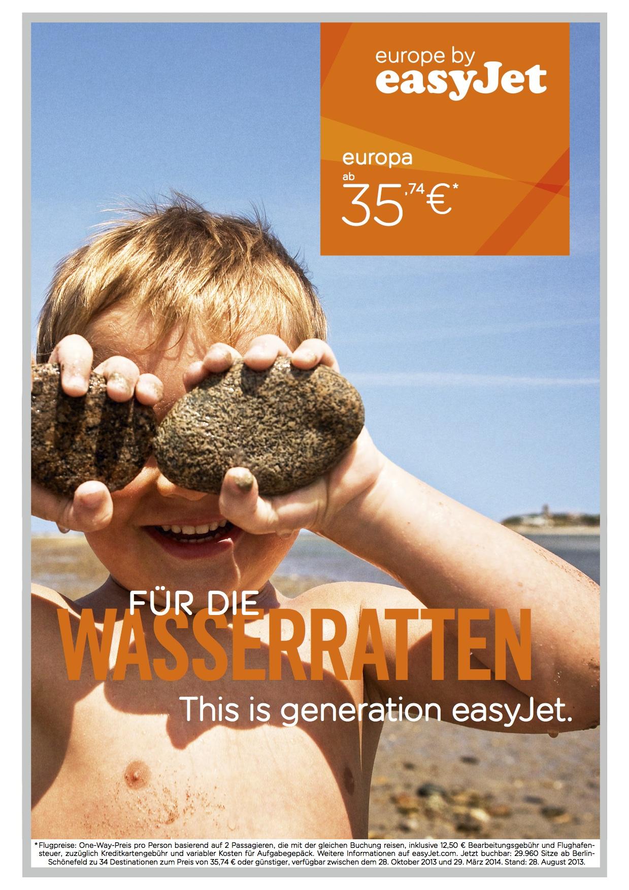 easyJet Werbekampagne_Motiv 2