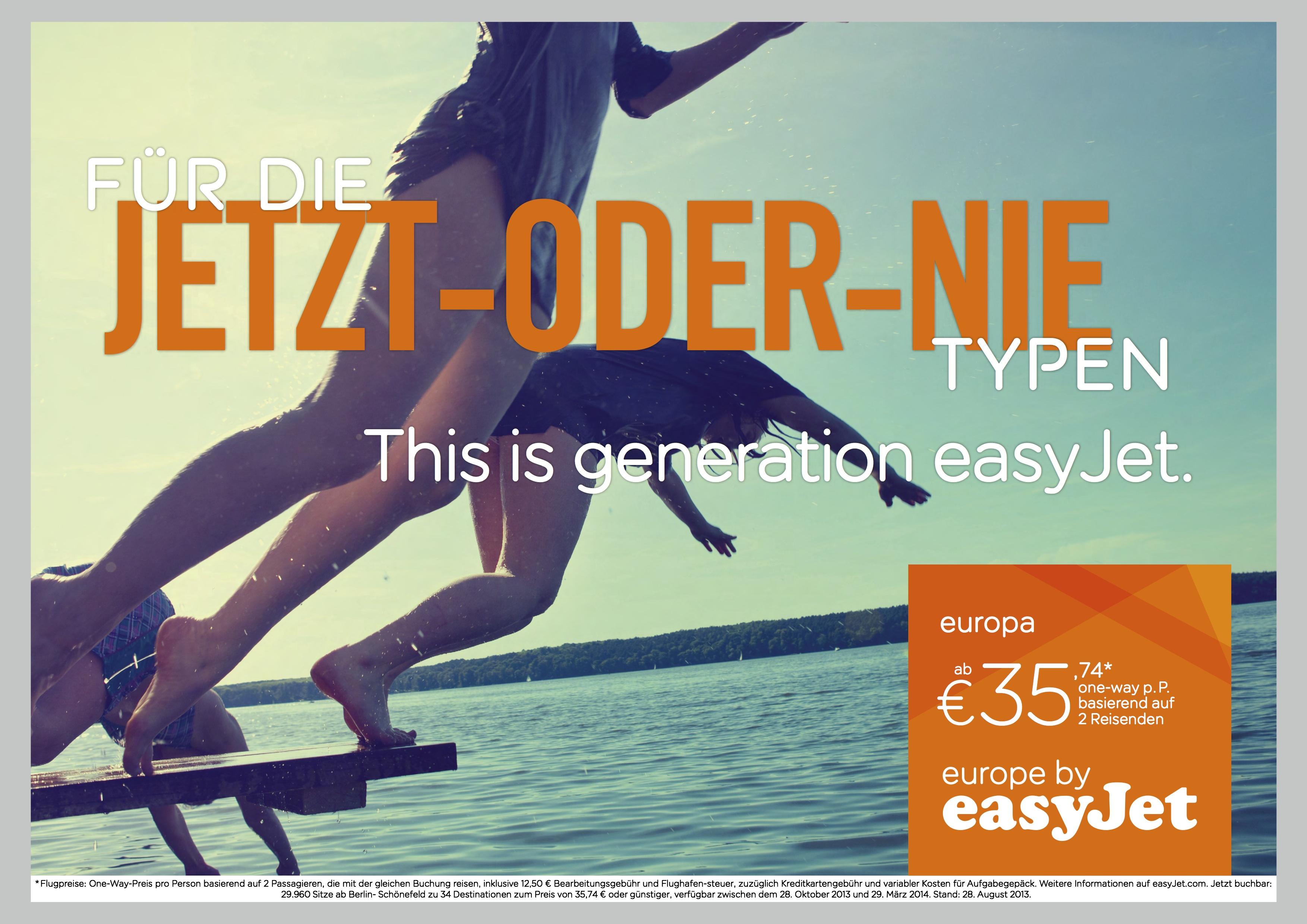 easyJet Werbekampagne_Motiv 3