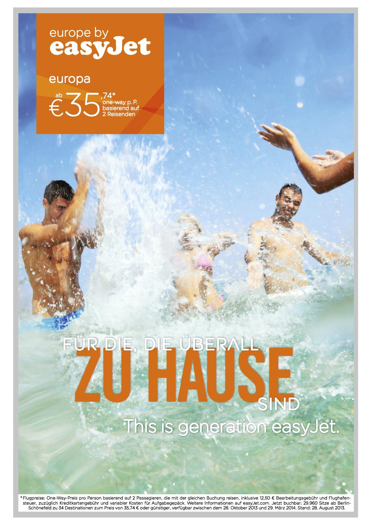 easyJet Werbekampagne_Motiv 4