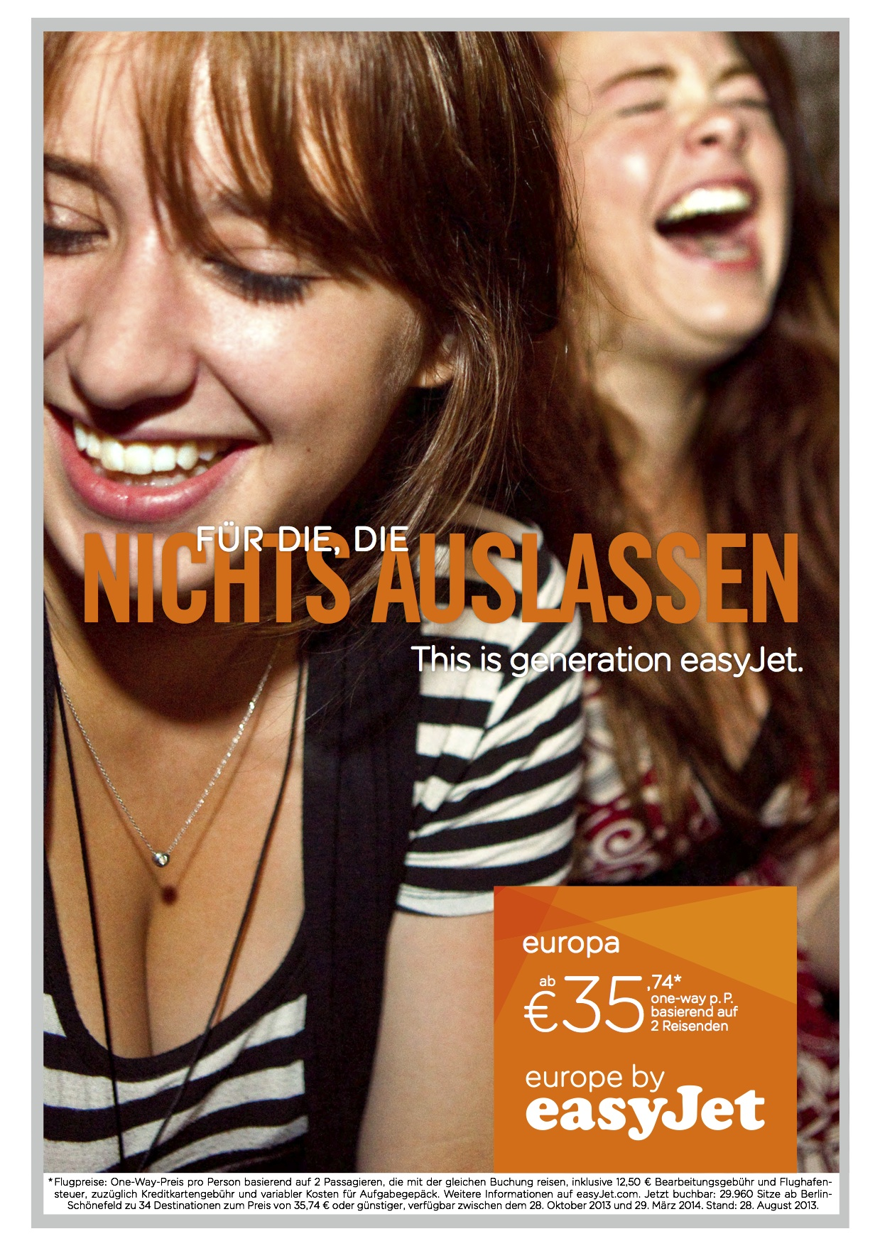 easyJet Werbekampagne_Motiv 5
