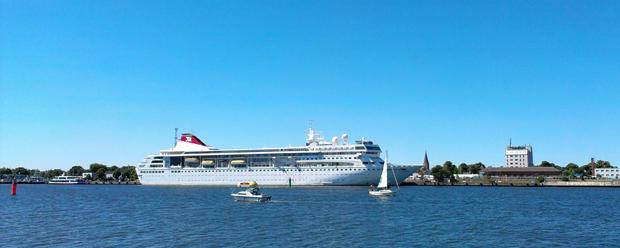 Segelschiff auf der Ostsee