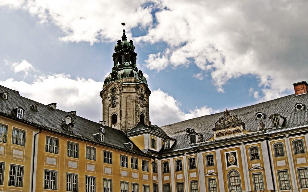 Innenhof Schloss Heidecksburg Rudolstadt