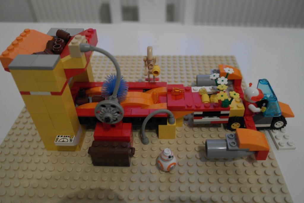 Ostereier Liefermaschine Lego