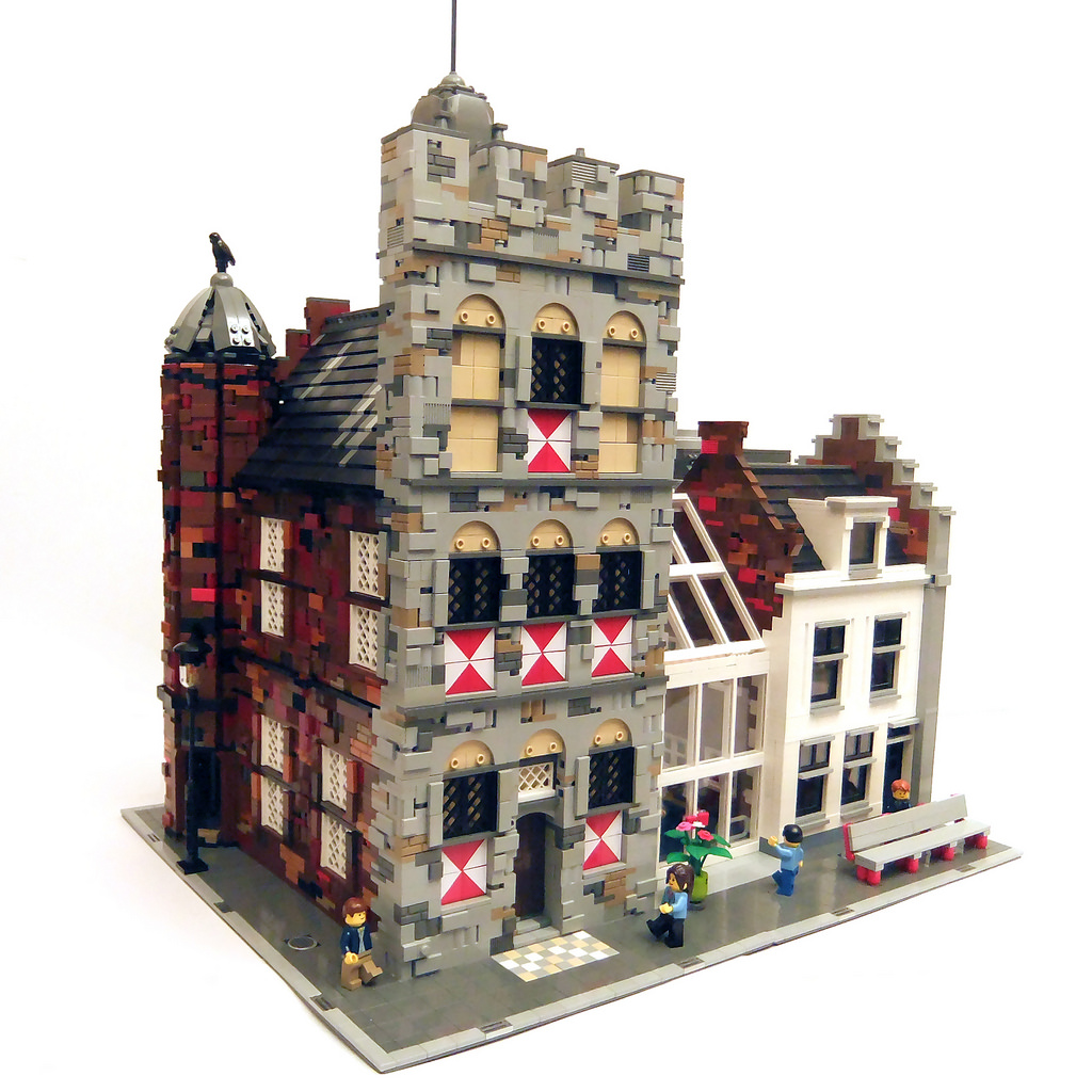 LEGO MOC Rathaus Vianen